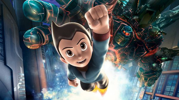 Astro Boy in 1920x1080 Pixel, a Good-Looking and Strong Boy, Brave Enough to Face Any Danger, Even Willing to Sacrifice Himself - TV & Movies Wallpaper
