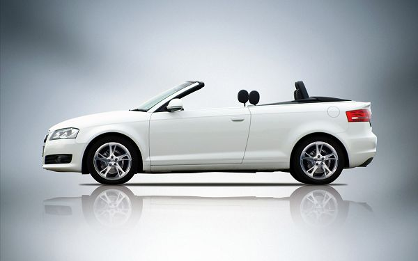 Audi A3 on a Mirror-Like Stage, Revealing All Details of the Car, It is Indeed Good-Looking and Decent - HD Cars Wallpaper