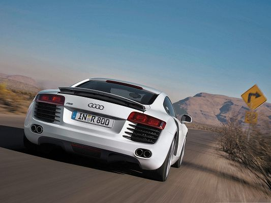 click to free download the wallpaper--Audi Cars Wallpaper, Decent and Super Car in the Run, Toward Magnificent Hills
