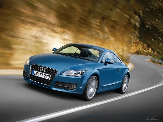 Audi TT Post in Pixel of 1600x1200, Turning is Absolutely No Problem for Such Great Cars, It Adds Speed and Decency to Your Device - HD Cars Wallpaper
