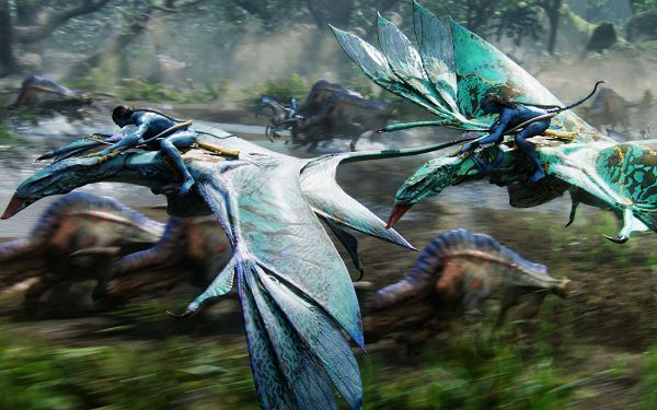 Avatar Special Edition Post in 1920x1200 Pixel, All Men on Saddle Horses, Both Look and Speed Are Incredible - TV & Movies Post