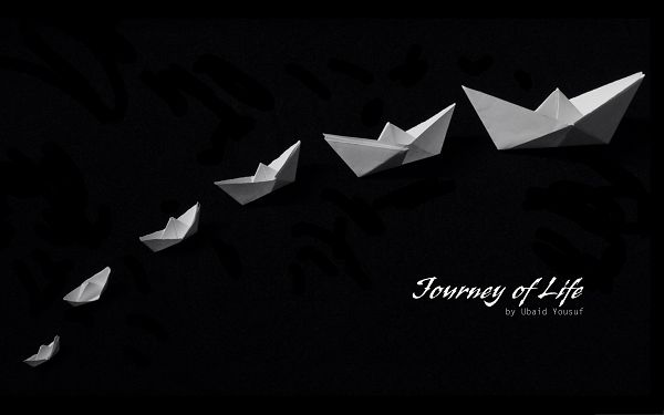 click to free download the wallpaper--Background Wide Wallpaper - Journey of Life, From Small to Big