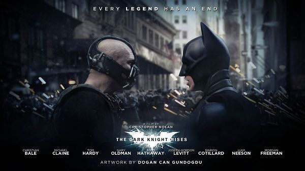 click to free download the wallpaper--Bane and Batman in The Dark Knight Rises in 1920x1080 Pixel, Everything They Do, They Do It to Protect Citizens and the Earth - TV & Movies Wallpaper