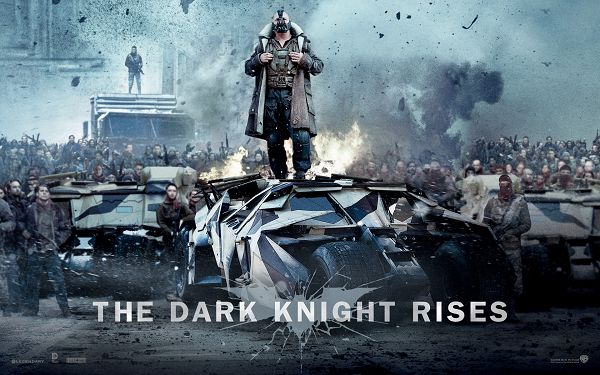 click to free download the wallpaper--Bane in The Dark Knight Rises in 1920x1200 Pixel, a Man Standing on a Car and Making Orders, He is a Motivative Guy - TV & Movies Post