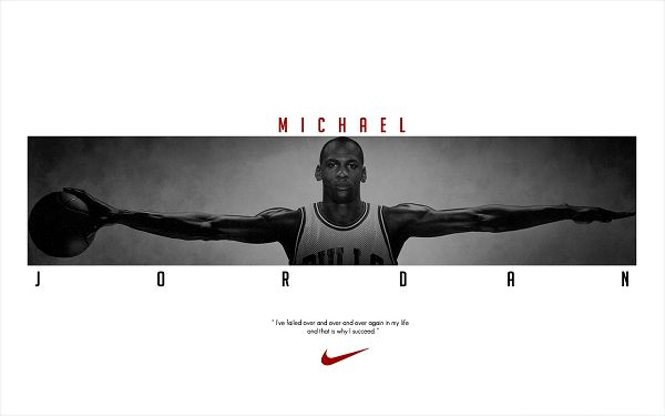 Basketball Wallpaper - Young Michael Jordan, Long Arms, Born to Play Basketball!