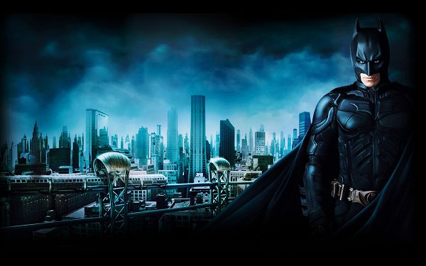 Batman 3 Gotham City Post in 1920x1200 Pixel, the Man Often Shows up at Dawn or Night, He is Thus Mysterious and Impressive - TV & Movies Post