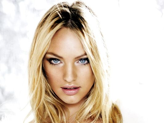 Beautiful Lady Posters, Candice Swanepoel in Blonde Hair and Blue Eyes, Impressive Girl