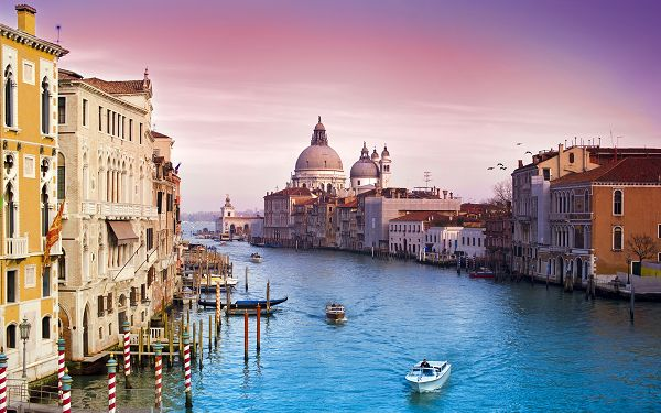 Beautiful Sceneries of the World - Beauty of Venice Post in Pixel of 1920x1200, Incredible City of Water, Lives Up to Its Name