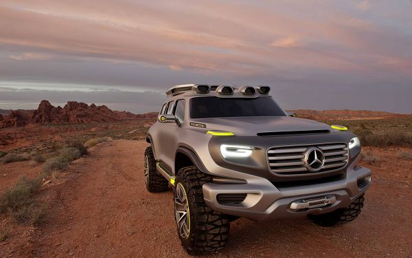 Benz Ener G Force Car Outdoor, Still It is Looking Good and Shall Set One's Mind at Ease - HD Cars Wallpaper
