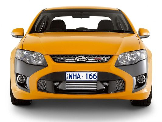 Best Cars for Desktop, Orange FPV GT Car on White Background, Impressive Look
