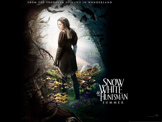 Best Fantasy Movies, Snow White And The HuntsMan, Beautiful Princess