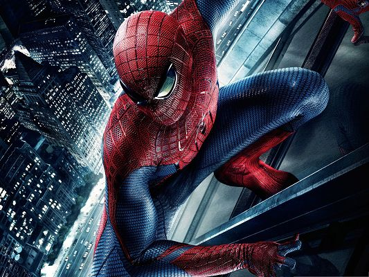 Best Film Poster, The Amazing Spider Man, Ready to Jump Up High