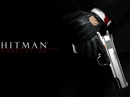 click to free download the wallpaper--Best Games Picture, Injured Yet Persistent Hitman