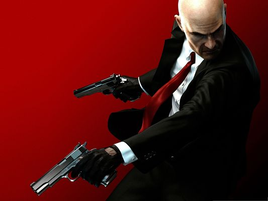 click to free download the wallpaper--Best Games Picture - Well-Equipped Hitman Absolution