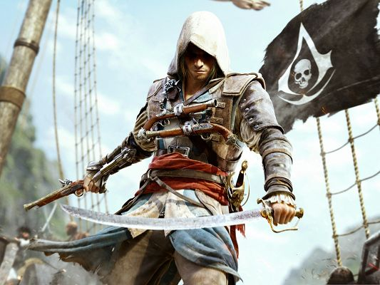 click to free download the wallpaper--Best Games Wallpaper, Assassins Creed, Quite a Killer!