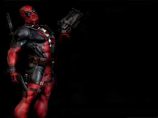 click to free download the wallpaper--Best Games Wallpaper, Deadpool the Video Game, Unbeatable Character