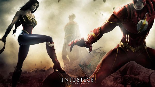 Best Games Wallpaper, Injustice Gods Among Us, Sexy Wonder Woman