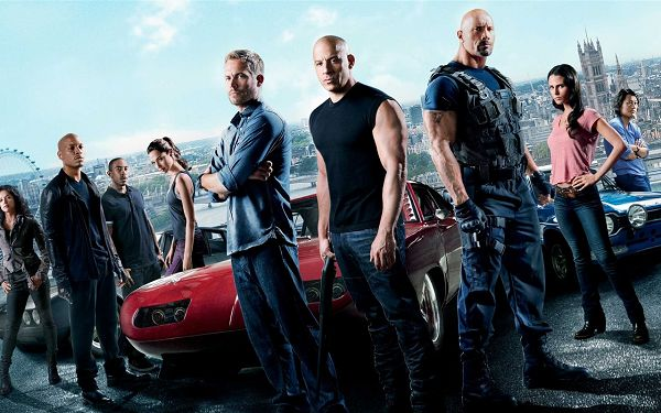 Best Movie Post as Wallpaper, Fast and the Furious 6, Get the Exciting Journey Started