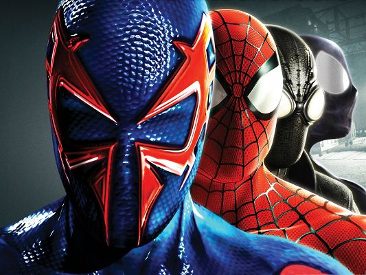 Best Movie Posters, Spider Man in Shattered Dimensions