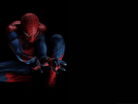 click to free download the wallpaper--Best Movies Wallpaper, The Amazing Spider Man, Always Ready to Fight