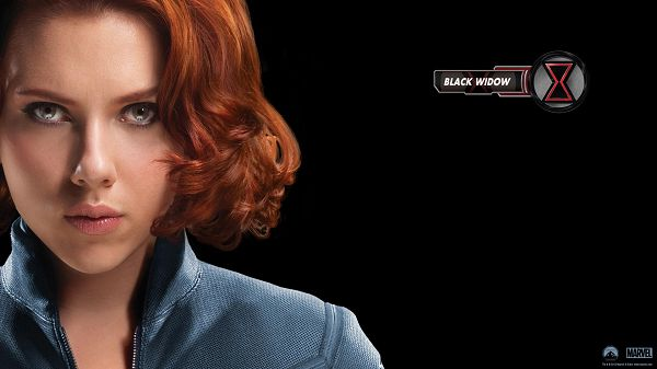 Black Widow in Avengers Movie Available in High Quality, the Cool Lady Boasts of Her Strong Fighting Capacity, Beautiful and Impressive - TV & Movies Wallpaper