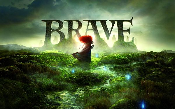 click to free download the wallpaper--Brave Movie 2012 in 4000x2500 Pixel, Red Hair is Blowing in Green Scenery, She is Hard to Believe - TV & Movies Wallpaper