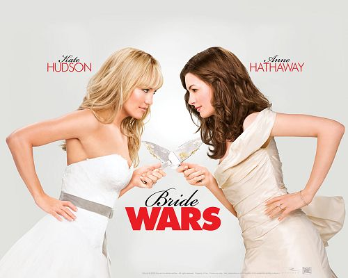 click to free download the wallpaper--Bride Wars HD Post in 1280x1024 Pixel, Two Brides in Severe Competition, Wish Both of Them Happy Marriage Life - TV & Movies Post