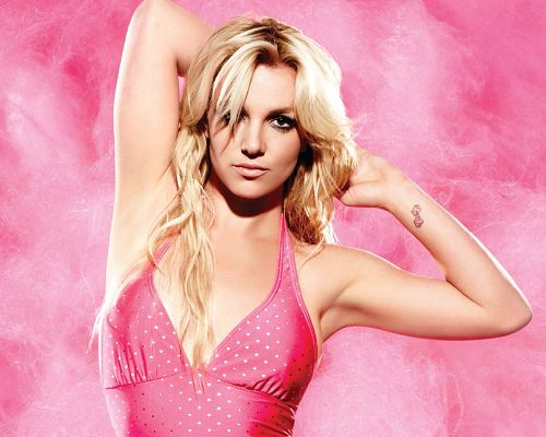 click to free download the wallpaper--Britney Spears HD Post in Pixel of 1280x1024, Lady Making an Appealing Pose in Pink Dress, She Shall Fit Various Devices - TV & Movies Post