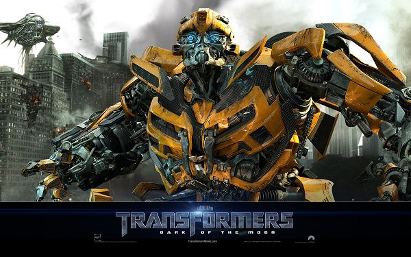 click to free download the wallpaper--Bumblebee Transformers Post in 1920x1200 Pixel, the Funny and Protective Transformer, Boy, Don't Leave Him - TV & Movies Post