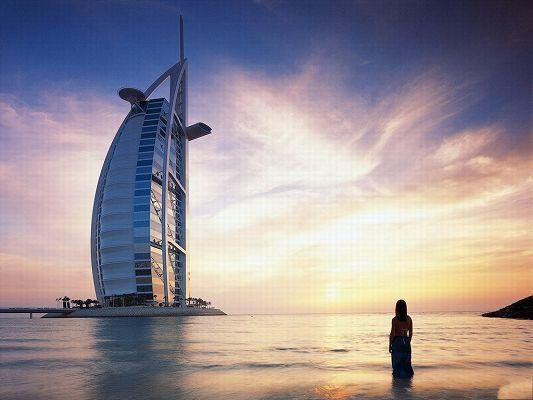 Burj Dubai Tower Photography