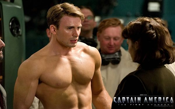 Captain America The First Avenger Post in 1920x1200 Pixel, a Strong and Muscular Man, Listen to Him, He Means Protection - TV & Movies Post