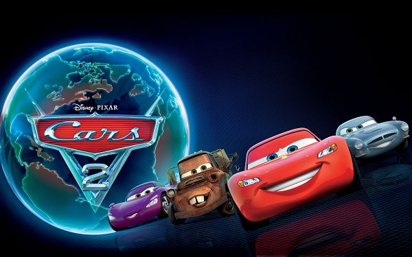 Cars 2 Movie Post in 2560x1600 Pixel, All Guys with Different Color and Facial Expression, All Are Happy, Make One Burst into Laughter - TV & Movies Post