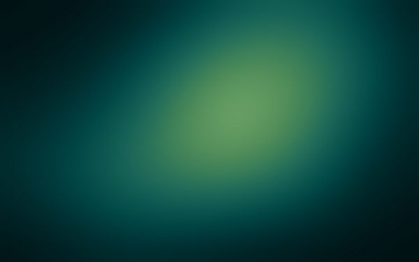 click to free download the wallpaper---Central Part Light Green, the Four Edges Dark Green, Green Can be Protective of the Eyes - HD Abstract Widescreen Wallpaper