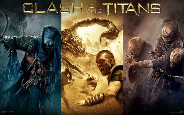 Clash of the Titans Post in Pixel of 1920x1200, All Guys Are Accumulating Power, They Are Great in Look, a Good Fit - TV & Movies Post