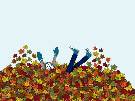 Cute Images, Embrace the Colorful and Fruitful Autumn, Jump into Fall