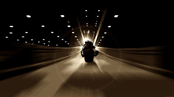 Dark Knight Batman Batpod in 1920x1080 Pixel, Man in Motorcar and Driving Alone, Shadows Are Much Prolonged, Where is He Going? - TV & Movies Wallpaper