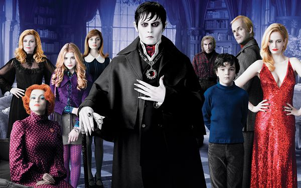 click to free download the wallpaper--Dark Shadows Movie in 2560x1660 Pixel, Face of these Guys is White to Pale, They Seem to be Ill in Sickness - TV & Movies Wallpaper