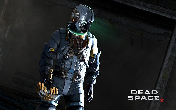 click to free download the wallpaper--Dead Space 3 2013 Post in 2880x1800 Pixel, a Robot Walking Alone in Dead Zone, Will He be Killed? You Can Wait for the Result - TV & Movies Post