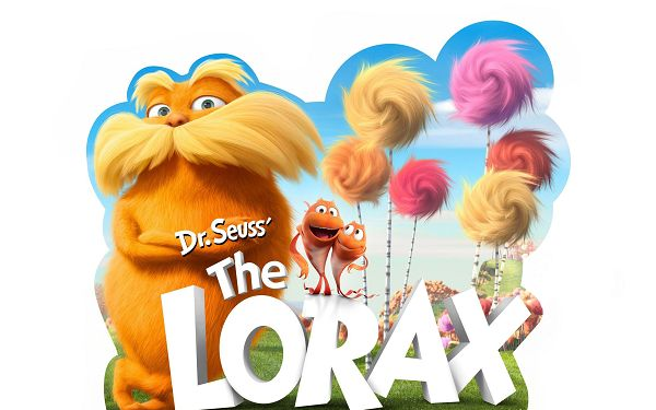 click to free download the wallpaper--Dr Seuss The Lorax Movie in High Quality and Pixel, All Hairy and Fun Guys, Shall Make the Viewers Burst into Laughter - TV & Movies Wallpaper