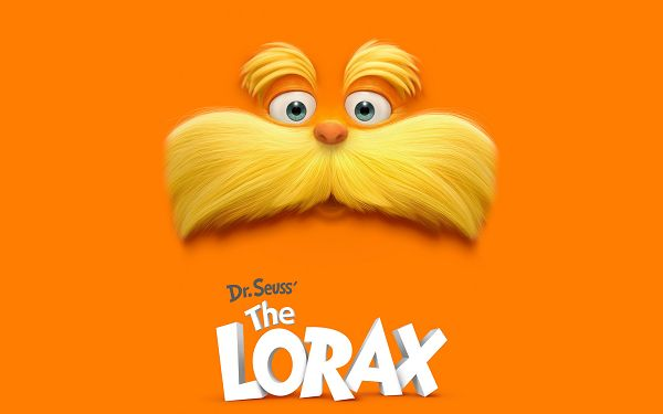 click to free download the wallpaper--Dr Seuss The Lorax in 2560x1600 Pixel, Revealing the Whole Face of the Kitty and Its Fun Facial Expression, Shall be a Great Fit - TV & Movies Wallpaper