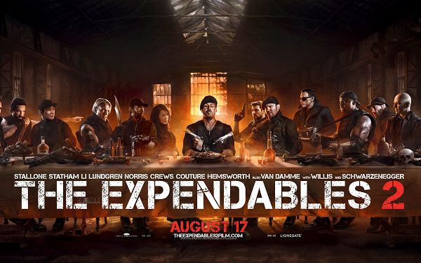 Expendables 2 The Last Supper Wallpaper in 2800x1800 Pixel, All Cautious Guys, Life Can be Lost at Any Minute - TV & Movies Wallpaper