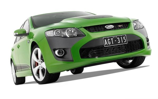 click to free download the wallpaper--FPV GT Car Wallpaper, Green and Tiny Car on White Background, Incredible Look