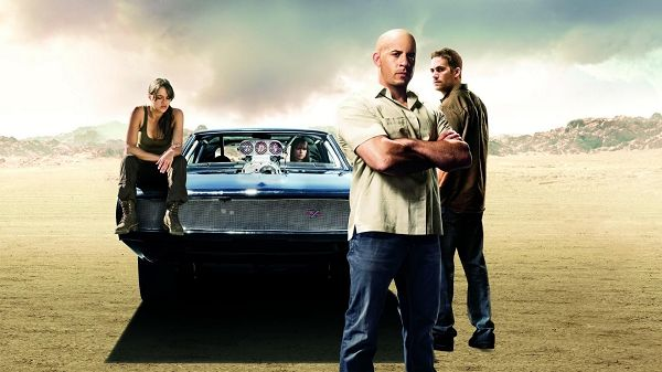 click to free download the wallpaper--Fast & Furious Wallpaper in 1920x1080 Pixel, the Four Characters Are All Great and Smart, Looking Good and Fit Various Devices - TV & Movies Wallpaper