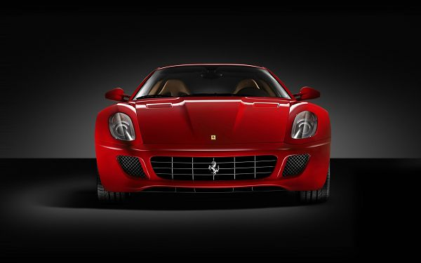 click to free download the wallpaper--Ferrari GTB Post in Pixel of 1920x1200, Red and Decent Car in Full Stop, It Shall Gain Great Attraction to Multiple Devices - HD Cars Wallpaper