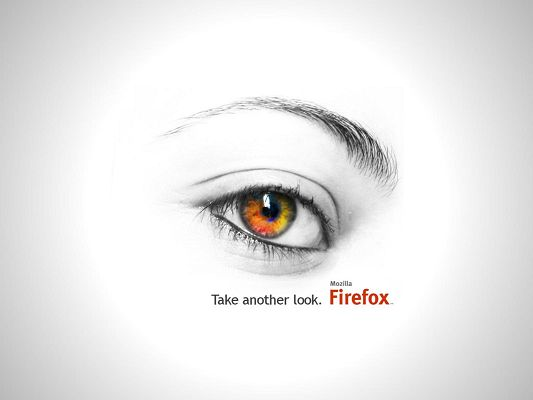 click to free download the wallpaper--Firefox Took Another Look HD Post in Pixel of 1600x1200, the Eye Impresses as Clear and Pure, Firefox is Well Worthy of One More Look - TV & Movies Post