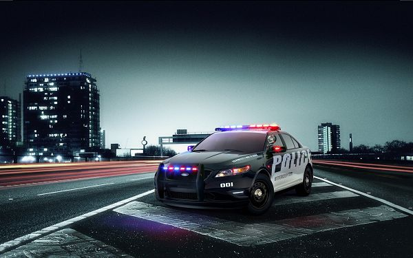 click to free download the wallpaper--Ford Police Interceptor Post in 1920x1200 Pixel, Car is Heavy and Hard to Break Down, Speed is Never Something for Compromise - HD Cars Wallpaper