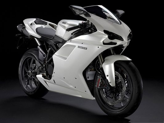click to free download the wallpaper--Free Cars Wallpaper, Ducati 1198 Superbike, an Attraction on the Road