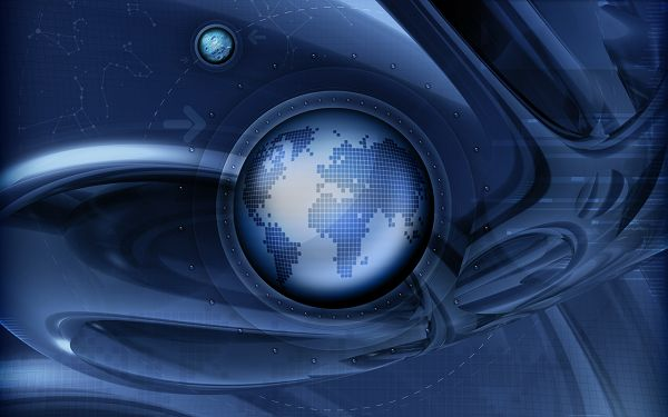 Free Download Creative Wallpaper - Digital World Wallpaper Showing a Fast World, Can You Follow It?