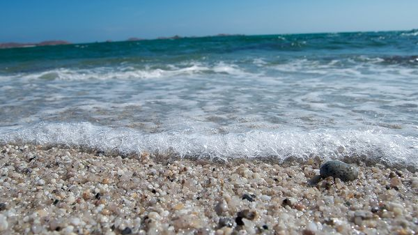 Free Download Natural Scenery Picture - Crystal Clear Sea Water, Little Stones by the Beach Are Pearl-Like