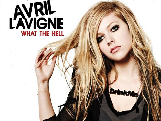 click to free download the wallpaper--Free Download TV & Movies Post - Avril Lavigne Post in Pixel of 1600x1200, Girl in Peaceful Facial Expression, Impressive Look